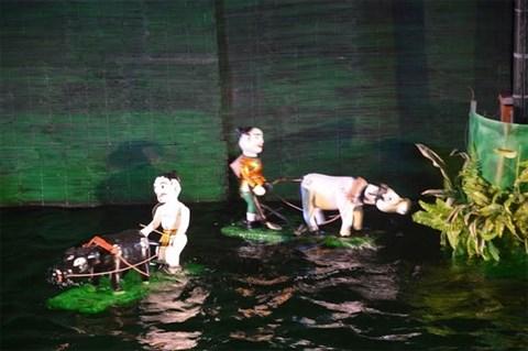 Marionnettes sur l'eau, nouveau produit touristique a Hoi An hinh anh 1