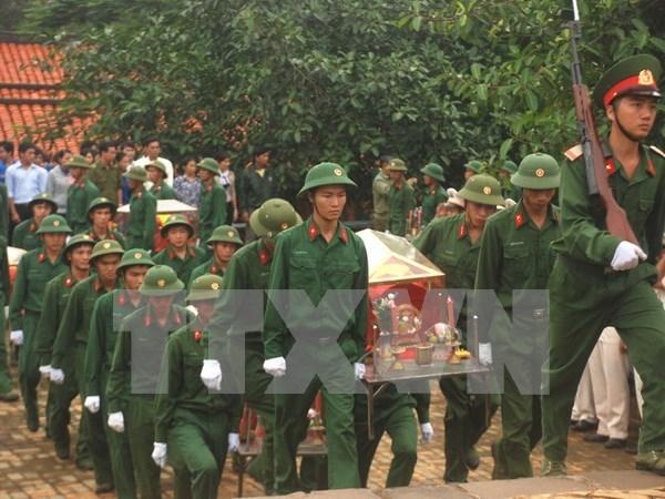 Binh Phuoc : acceleration de la recherche des restes des soldats vietnamiens hinh anh 1