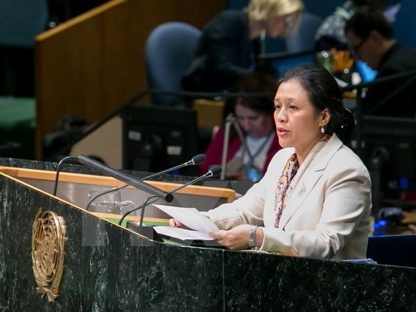 Le Vietnam soutient un desarmement integral hinh anh 1