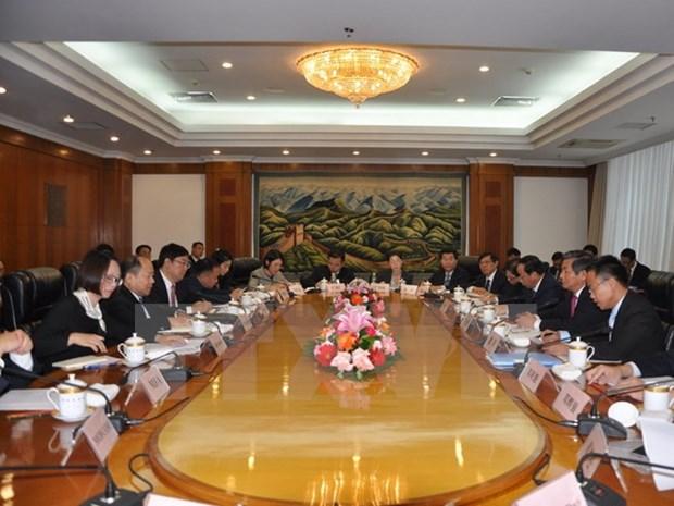 Le Vietnam et la Chine renforcent leur cooperation dans les infrastructures terrestres hinh anh 1