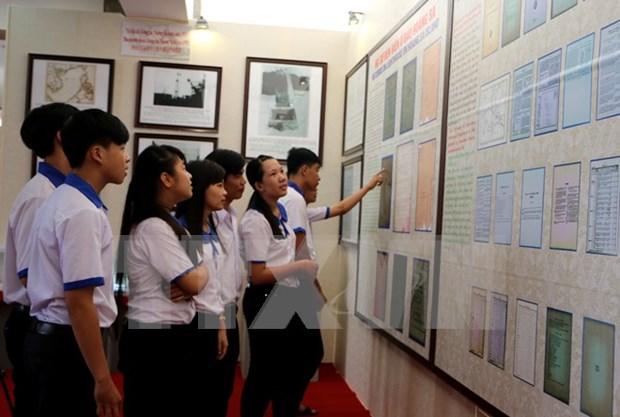 Exposition sur la souverainete sur Hoang Sa et Truong Sa a Dien Bien hinh anh 1