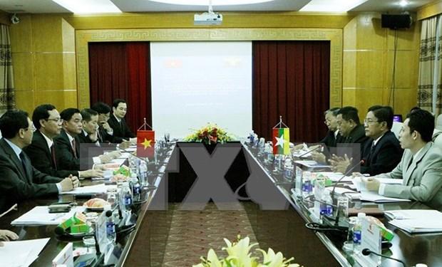 Le Vietnam veut developper sa cooperation avec le Myanmar hinh anh 1