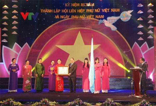 85eme anniversaire de l'Union des femmes vietnamiennes hinh anh 1