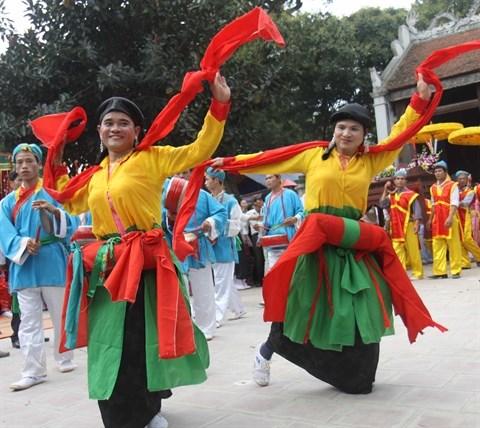 Les danses anciennes de Thang Long-Hanoi remises au gout du jour hinh anh 2