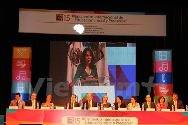 Le Vietnam participe a la reunion mondiale sur l'education maternelle au Mexique hinh anh 1