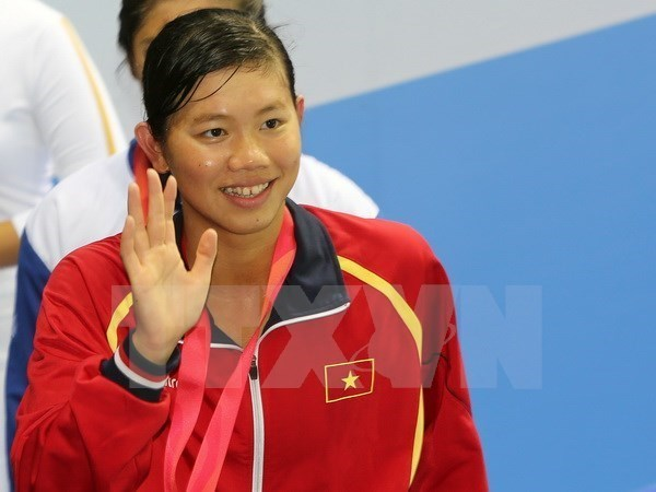 Natation : Anh Vien remporte 16 medailles d'or au championnat national hinh anh 1