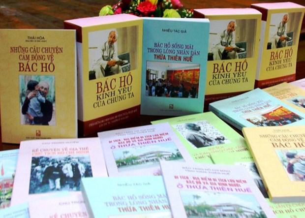 Publication d'une collection de livres sur l'Oncle Ho hinh anh 1