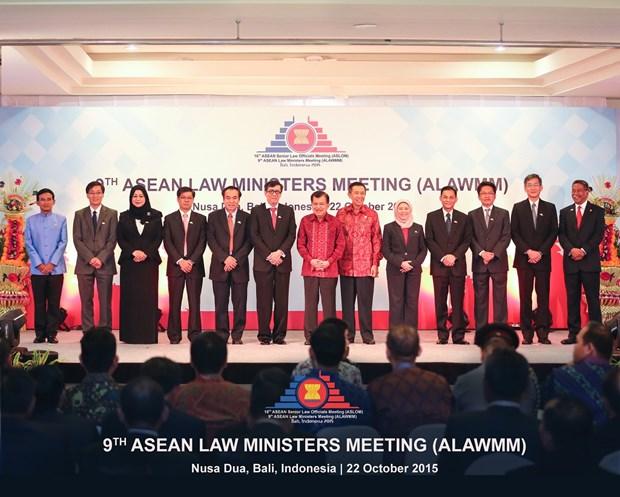 ASEAN : Ouverture de la 9e Conference des ministres de la Justice hinh anh 1