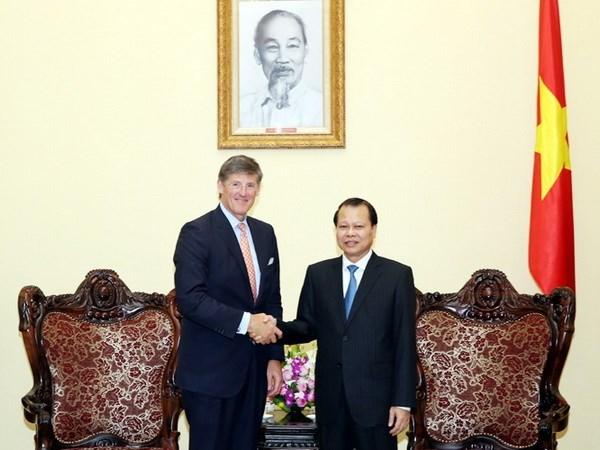 Le vice-PM Vu Van Ninh recoit le directeur general de Citigroup hinh anh 1