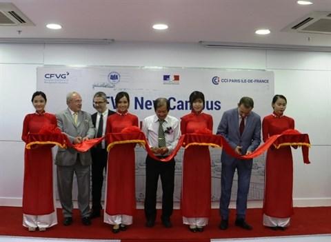 Inauguration du nouveau campus du CFVG hinh anh 1
