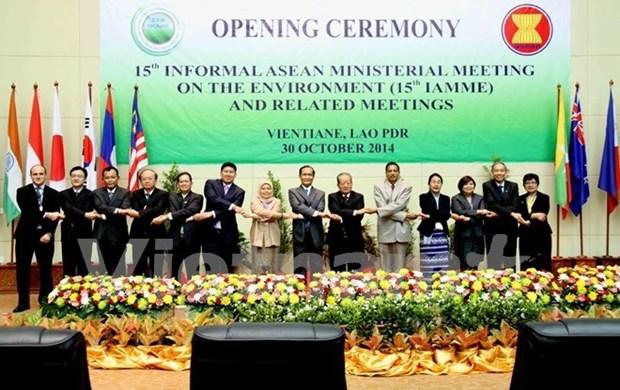 Pour une ASEAN verte, propre et orientee vers le developpement durable hinh anh 1
