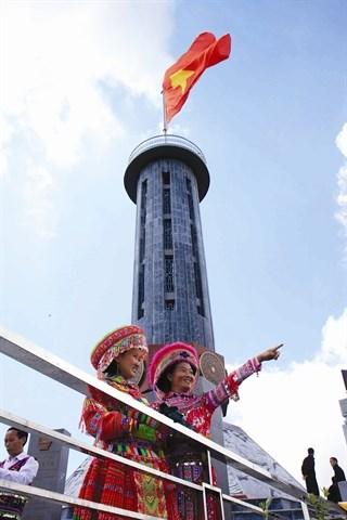 La tour du drapeau de Lung Cu hinh anh 1
