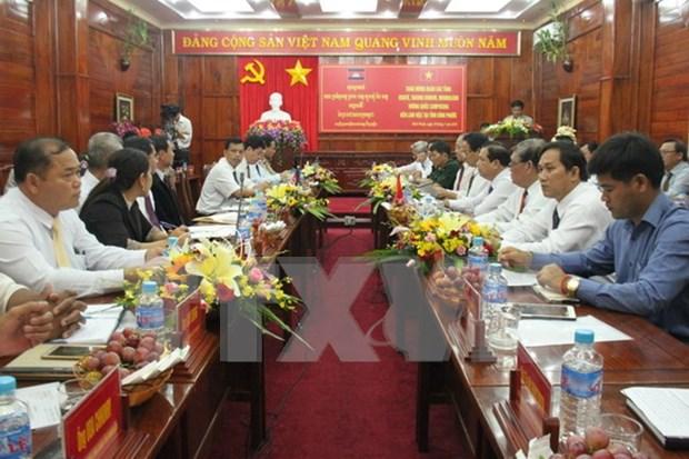 Binh Phuoc et la province cambodgienne de Kratie intensifient la cooperation hinh anh 1