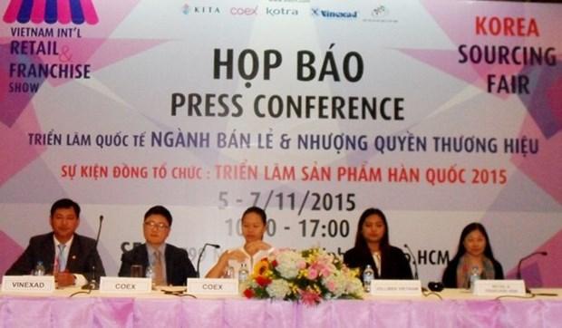 Bientot l'exposition internationale sur la franchise commerciale et la vente de detail a HCM-Ville hinh anh 1