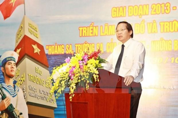 Bilan de l'exposition de cartes et d'archives sur Hoang Sa et Truong Sa hinh anh 1