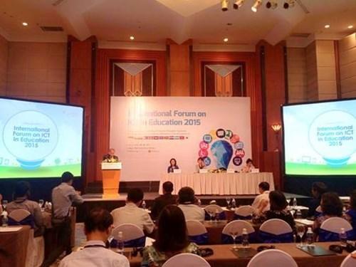 La R. de Coree aide le Vietnam a appliquer les TI dans l'education hinh anh 1