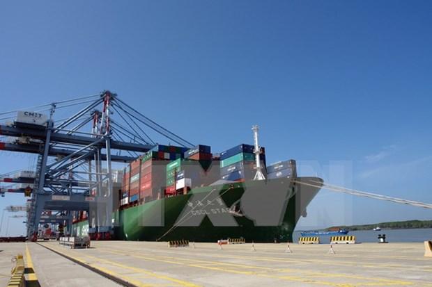 Un grand cargo de 160.000 tonnes mouille au port de Cai Mep-Thi Vai hinh anh 1