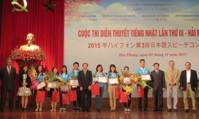Troisieme concours national d'expose oral en japonais a Hai Phong hinh anh 1