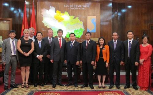 Vietnam-Republique tcheque : jumelage entre les villes de Bac Ninh et Cheb hinh anh 1
