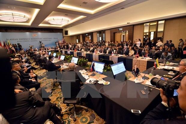 Ouverture de la 3e Conference elargie des ministres de la Defense de l'ASEAN hinh anh 1