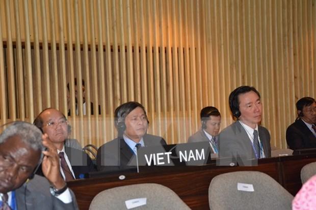 Le Vietnam a la 38e session de la Conference generale de l'UNESCO hinh anh 1