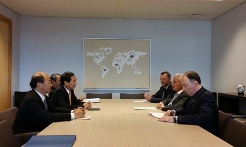 Consultation politique annuelle Vietnam - Belgique hinh anh 1