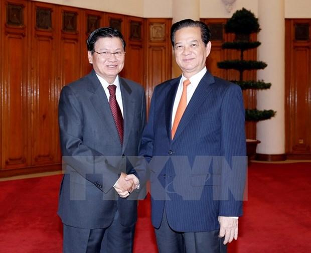 Vietnam et Laos intensifient leur solidarite speciale hinh anh 2