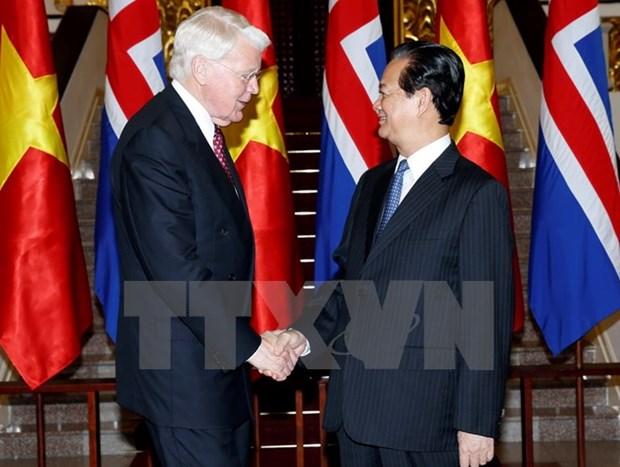 Vietnam et Islande renforcent leur cooperation en tous domaines hinh anh 2