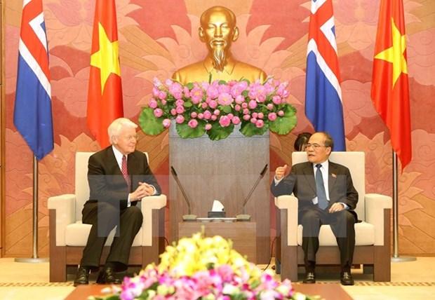 Vietnam et Islande renforcent leur cooperation en tous domaines hinh anh 3