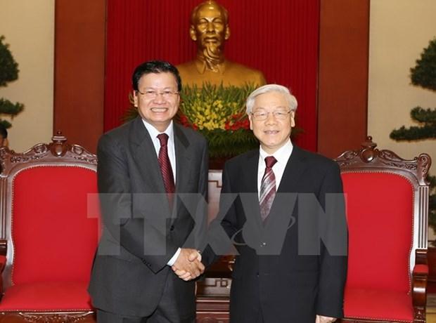 Vietnam et Laos intensifient leur solidarite speciale hinh anh 1