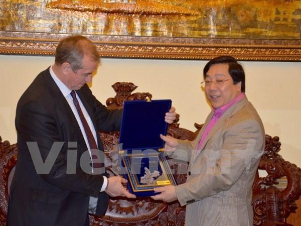 Renforcement de la cooperation entre localites vietnamiennes et russes hinh anh 1
