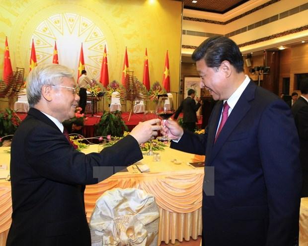 Reception en l'honneur du president chinois Xi Jinping hinh anh 1