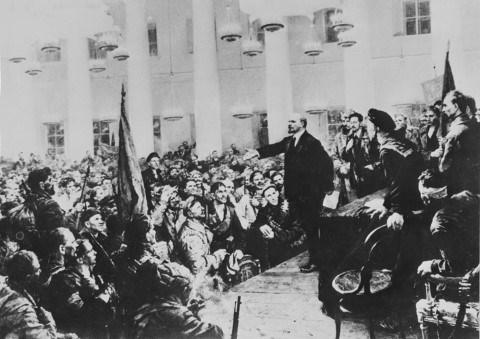 Celebration du 98e anniversaire de la Revolution d'Octobre russe hinh anh 1