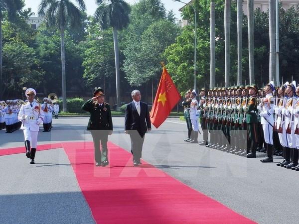 Vietnam et Japon renforcent leur cooperation dans la defense hinh anh 1