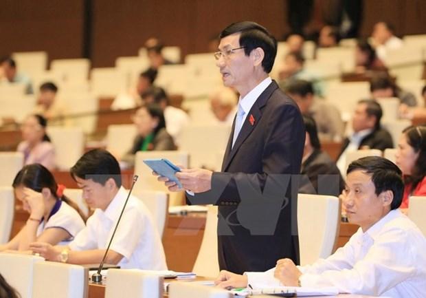 L'AN discute de la loi relative aux traites internationaux hinh anh 1