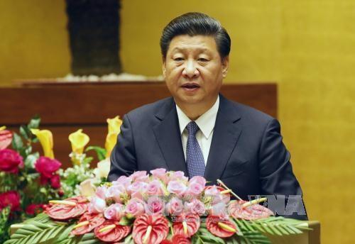 Xi Jinping termine sa visite d'Etat au Vietnam hinh anh 1