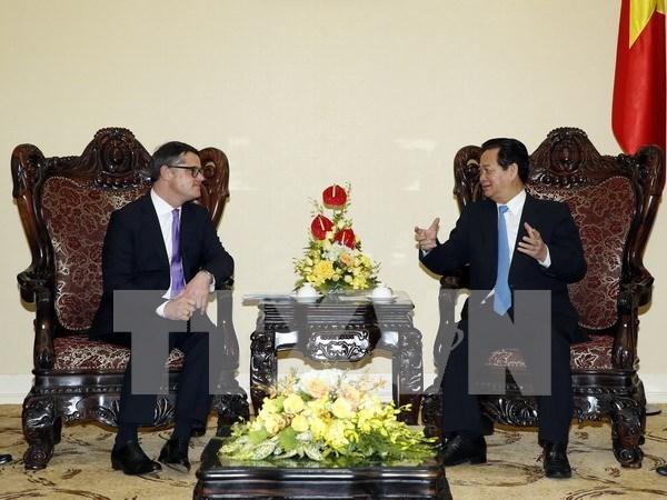 Nguyen Tan Dung recoit le ministre des Sciences et des Arts du Land de Hesse hinh anh 1