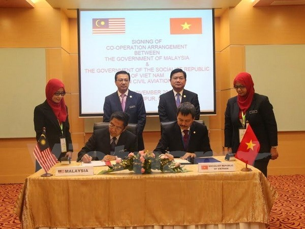 Vietnam - Malaisie: Nouvel accord de cooperation dans l'aviation civile hinh anh 1