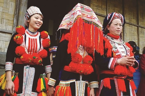 Le mariage traditionnel des Dao rouges hinh anh 1