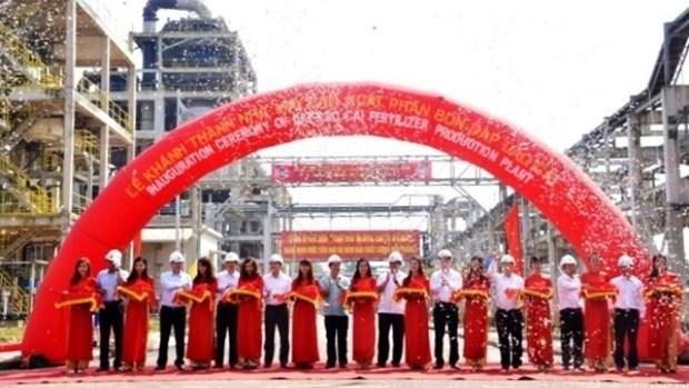 Lao Cai: Inauguration d'une usine d'engrais de 500 milliards de dongs hinh anh 1