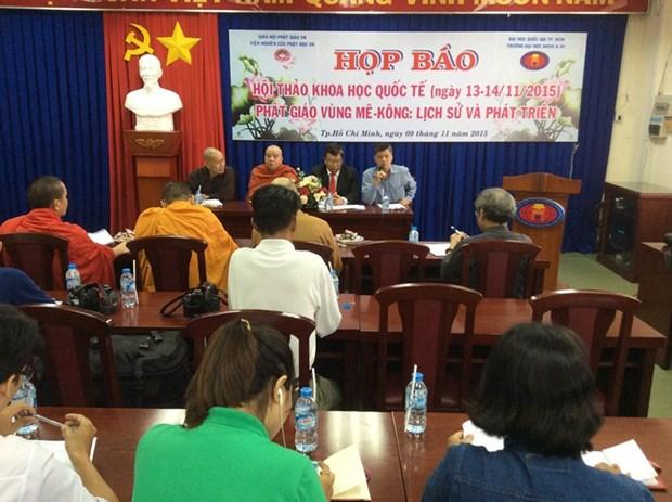 Seminaire international sur le developpement du bouddhisme de la region du Mekong hinh anh 1