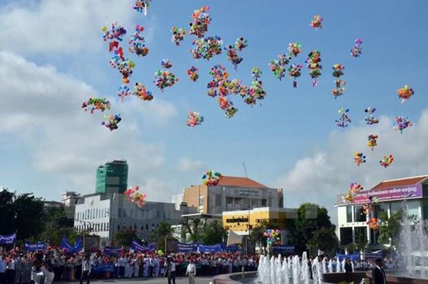 Le Cambodge celebre le 62e anniversaire de son Independance hinh anh 1