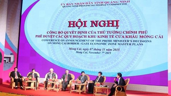 Pour faire de Mong Cai un pole de croissance economique dynamique hinh anh 1