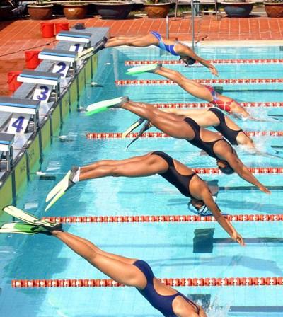 Nage avec palmes : le Vietnam remporte trois medailles d'or a Taiwan hinh anh 1