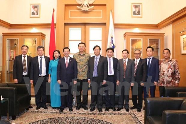 Hanoi - Jakarta : cooperation pour un developpement prospere hinh anh 1