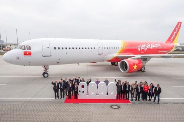 VietJet Air recoit un nouvel A321 hinh anh 1