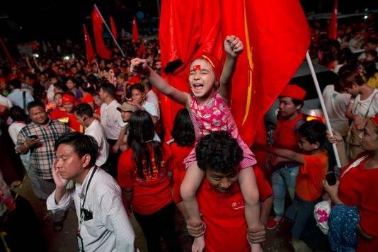 Election au Myanmar : victoire en vue pour la LND hinh anh 1