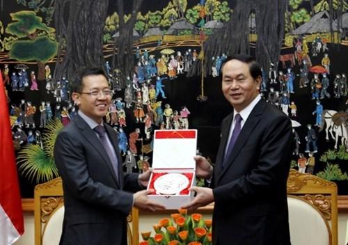 Les polices vietnamienne et singapourienne renforcent leur cooperation hinh anh 1