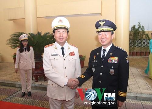 Vietnam et R. de Coree renforcent leur cooperation dans la lutte contre la criminalite hinh anh 1