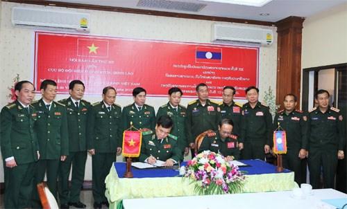 Frontieres : le Vietnam et le Laos renforcent leur cooperation hinh anh 1